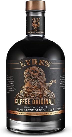 Lyres Coffee Originale Bebida Espirituosa sin Alcohol - Estilo Licor de Café | Premiado | 700ml