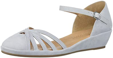 Wedge   Gentle Souls Donna Naira Demi Wedge  Sandalo with Caged   1e5e4b