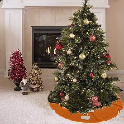 Falda para árbol de navidad Cute Fashion Cartoon Roller Brush ...