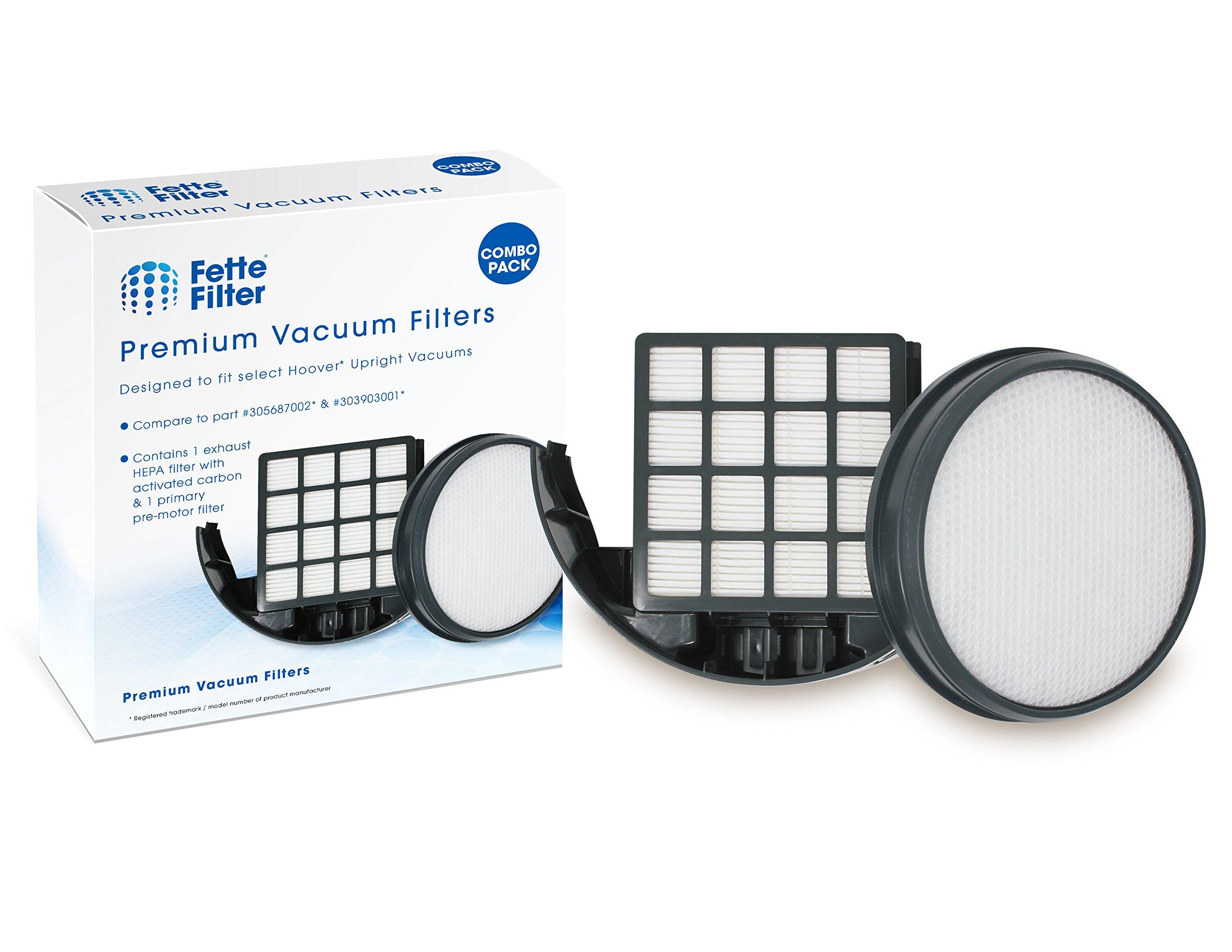 Hoover 303903001 & 305687002 Compatible WindTunnel 3 Pro Pet Upright Vacuum Filter Kit