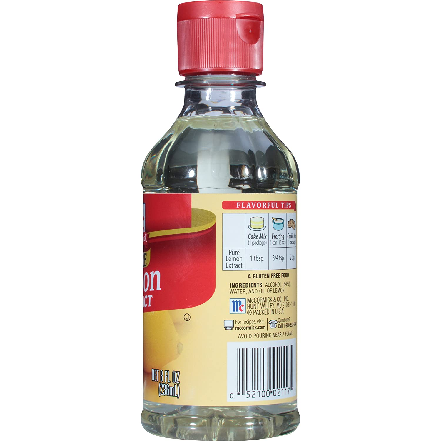 Nutrition News: mccormick pure vanilla extract nutrition facts