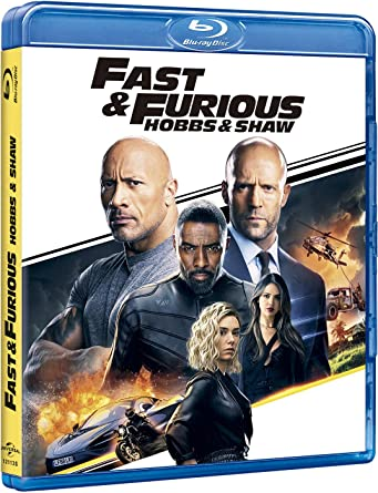 Image result for Fast and furious: Hobbs & Shaw' blu ray