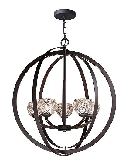 Amazon.com: woodbridge lighting 14325 – MEB Mirage lámpara ...