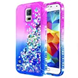 Galaxy S5 Case with Tempered Glass Screen Protector