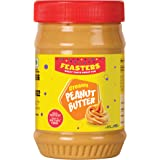 Feasters Peanut Butter Creamy Bottle, 510g