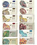 GoMacro Variety Pack, 1 bar each (pack of 12) - 12 Flavors including 3 new flavors