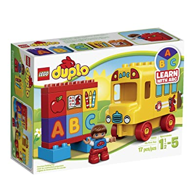LEGO DUPLO My First Bus (School Bus) Building Set (10603): Toys & Games