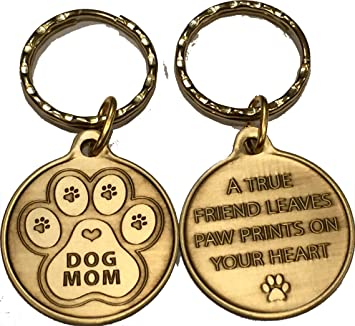 Amazon.com: Huellas de perro Mamá – Un verdadero amigo Hojas ...