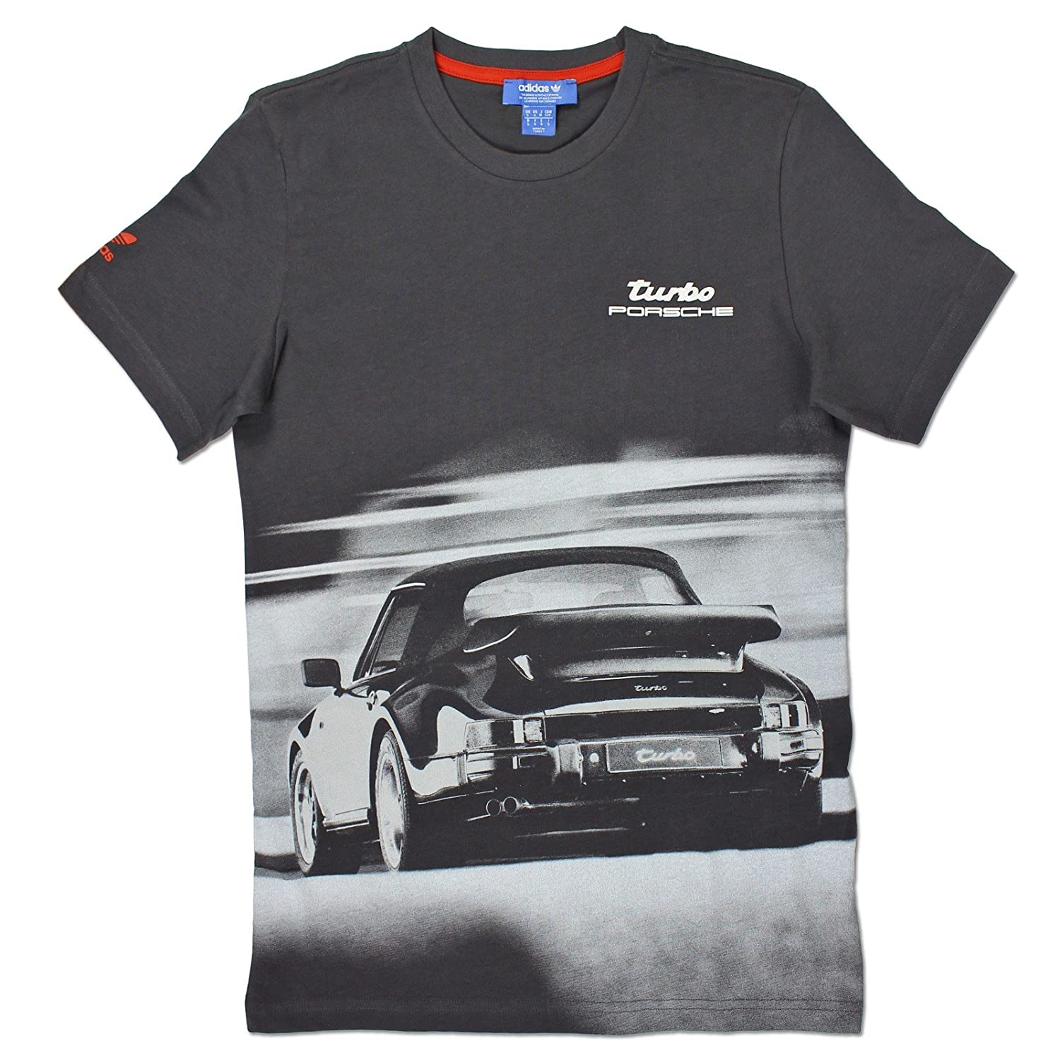 Adidas Originals Herren Porsche 911 Turbo Design Tee Shirt