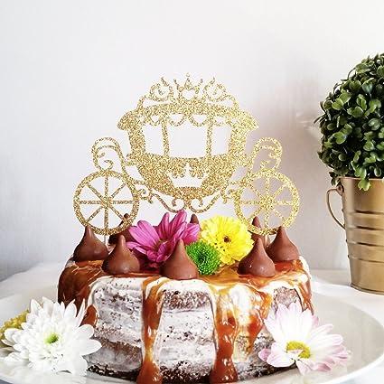 Avery Carey Princesa Carriage - Decoración para tartas ...