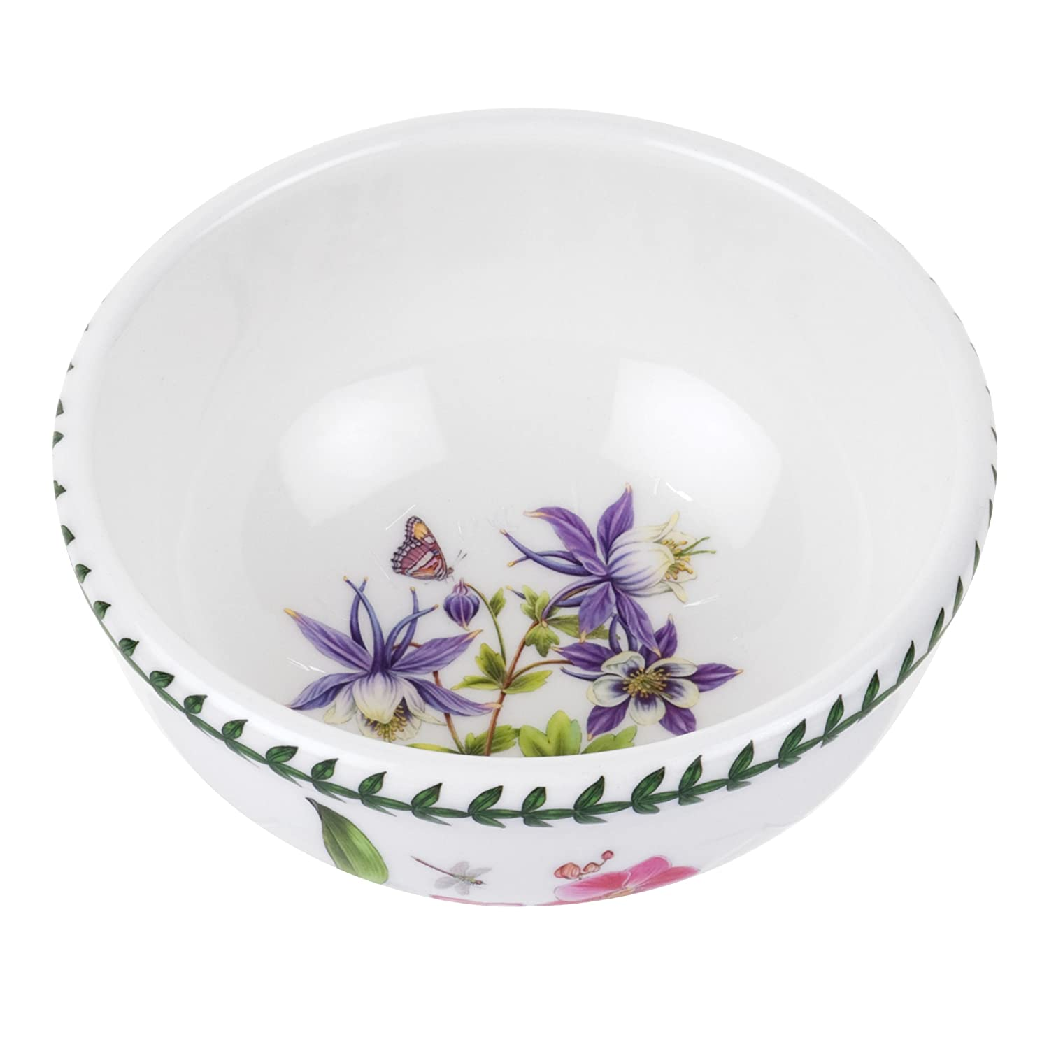 amazoncom portmeirion exotic botanic garden individual fruit salad bowl set with 6 assorted motifs kitchen dining