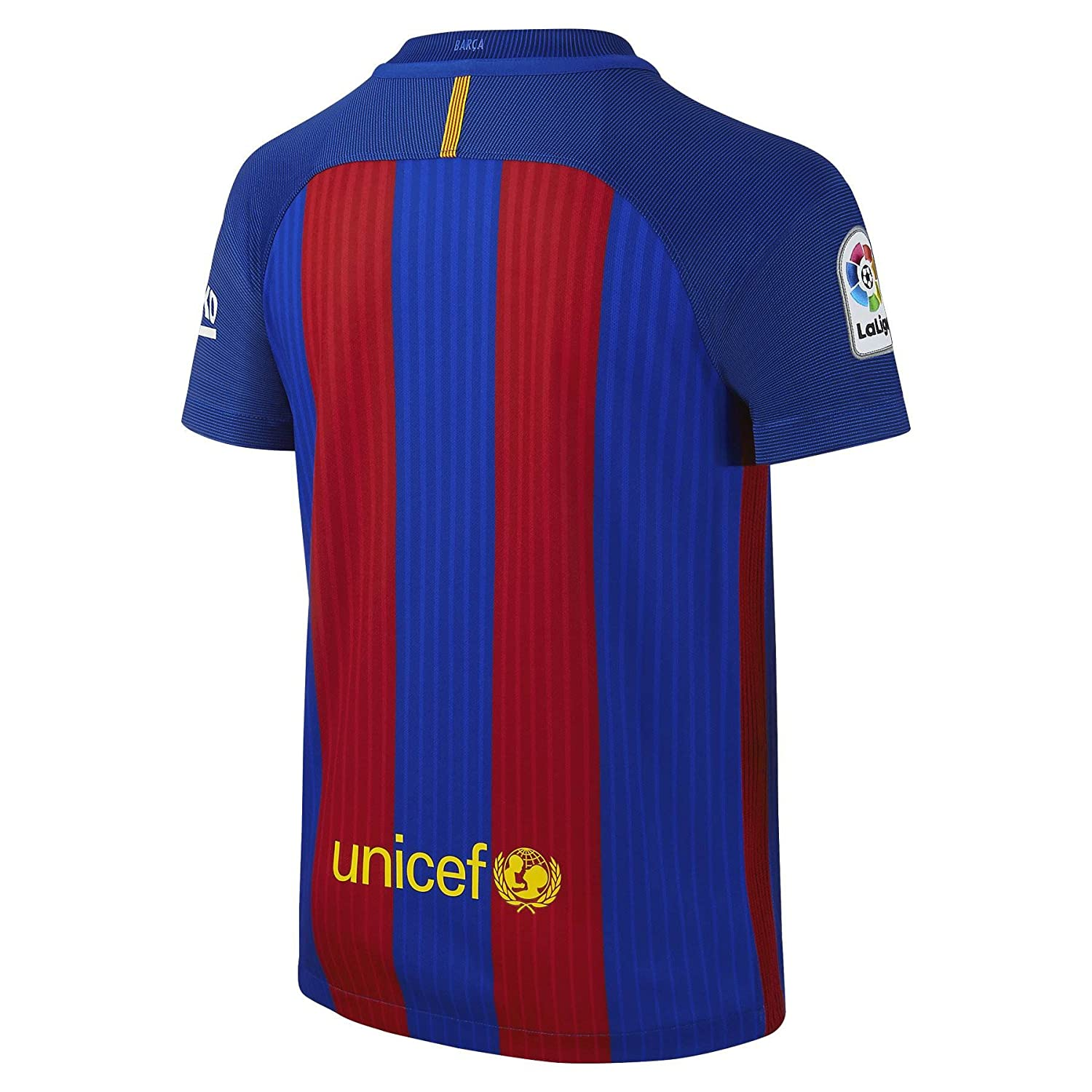 8fd545d45 Amazon.com : 2016-17 Barcelona Home Shirt (Messi 10) : Clothing