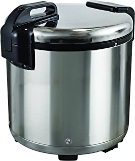 Excellante SEJ20000 Commercial Stainless-Steel 30-Cup Rice Warmer