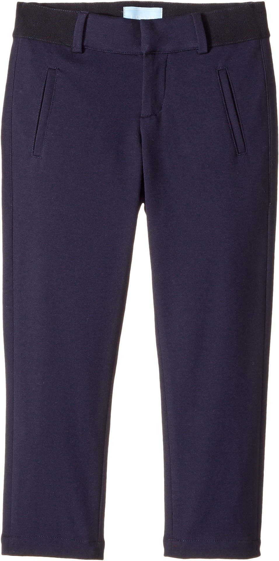 Lanvin Kids  Baby Boy's Pants with Logo Detail On Back (Toddler/Little Kids) Navy 2 13 Years