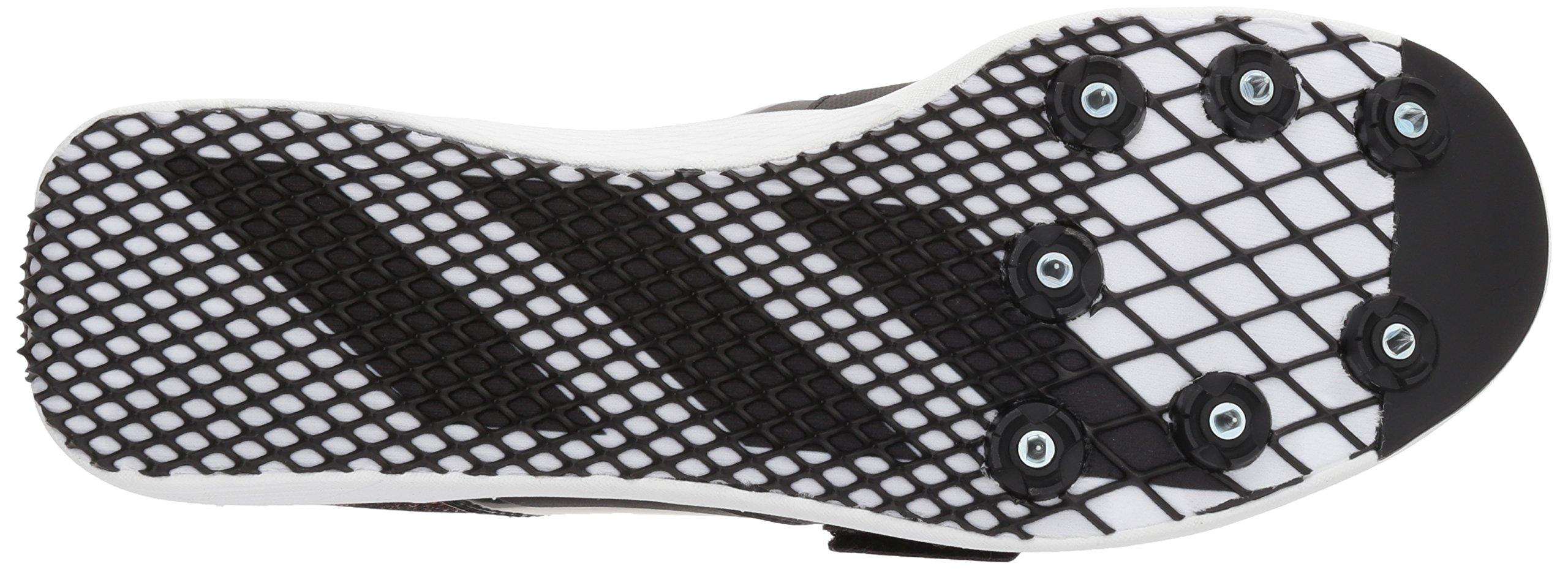 adidas Adizero tj/pv Running Shoe core Black, FTWR White, Orange 13.5 M US by adidas (Image #3)