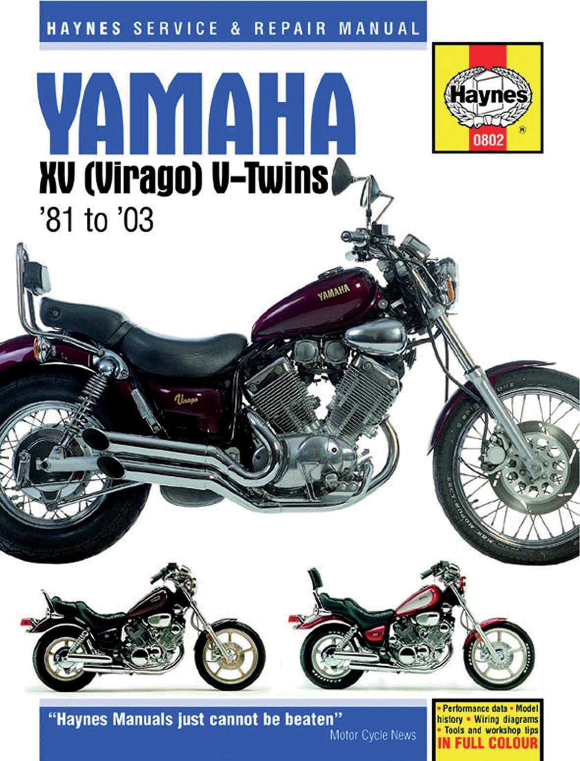 Haynes 81-97 Yamaha XV750 Repair Manual