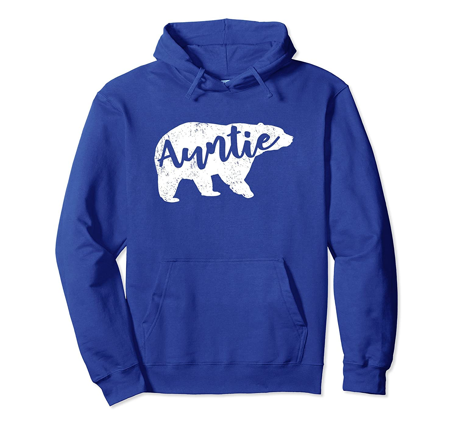 Auntie Bear Hoodie Aunt Life Mothers Day Gift for Women-TH