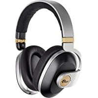Blue Satellite Premium Wireless Noise-Cancelling Headphones with Audiophile Amp (Black)