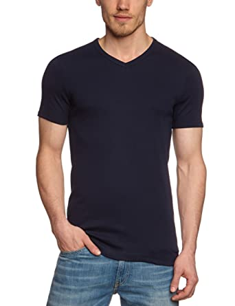 Garage Herren T-Shirt Comfort Fit 302 - T-shirt V-neck semi bodyfit:  Amazon.de: Bekleidung