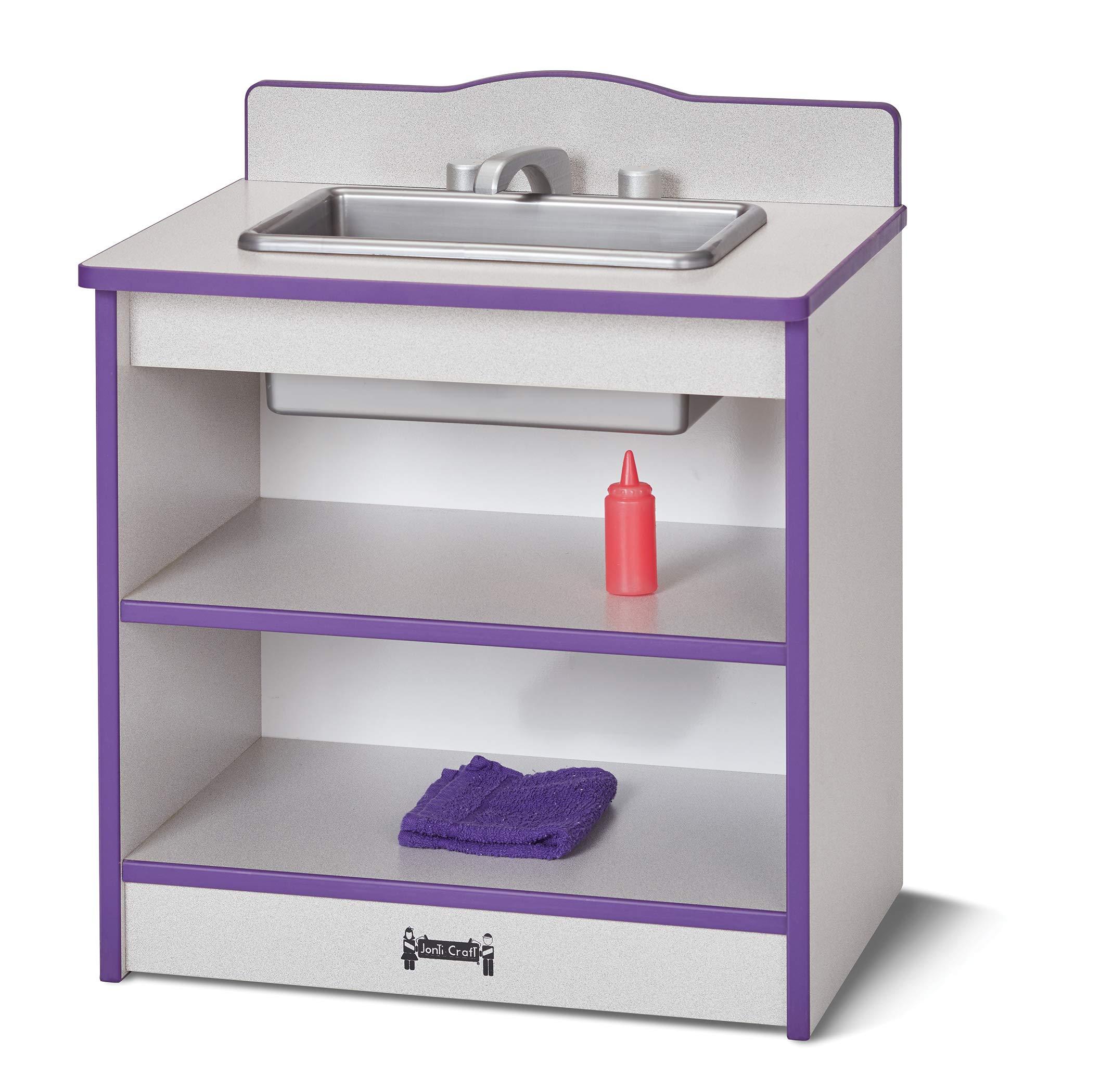 Rainbow Accents 2428JCWW007 Toddler Kitchen Sink - Yellow