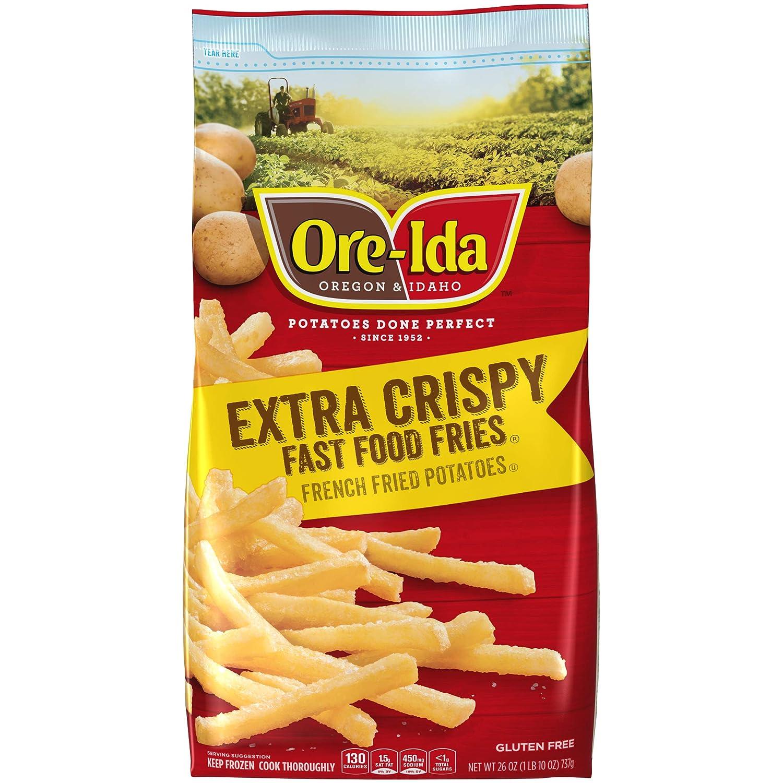 Ore-Ida Extra Crispy Frozen French Fries (26 oz Bag)