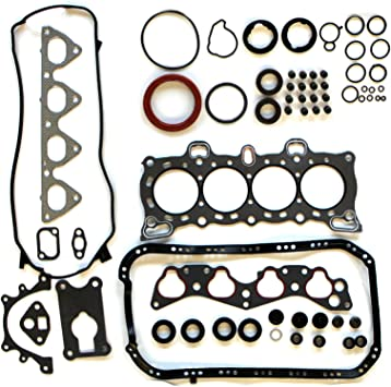 ECCPP Engine Head Gasket Set w//Bolts fit 90-93 Honda Accord EX SE EX DX LX 2.2L Compatible fit for Gaskets Kit