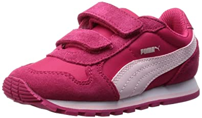 63302e8a084cfc Puma Unisex Kids  ST Runner NL V Inf Low-Top Sneakers Pink Size
