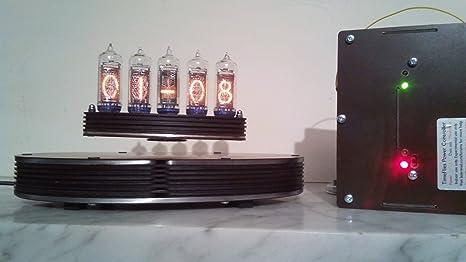 Lasermad - Reloj Nixie de 5 Tubos (Kit DIY, Requiere Montaje Completo, Soldadura
