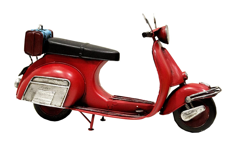 Modellino Vespa rosso MAXIOCCASIONI