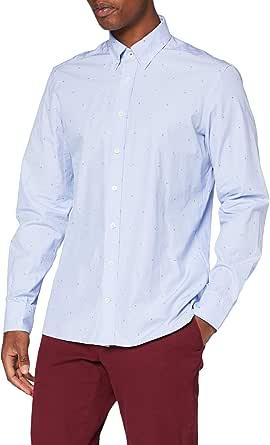 Hackett London H Fil Coup MT Camisa para Hombre