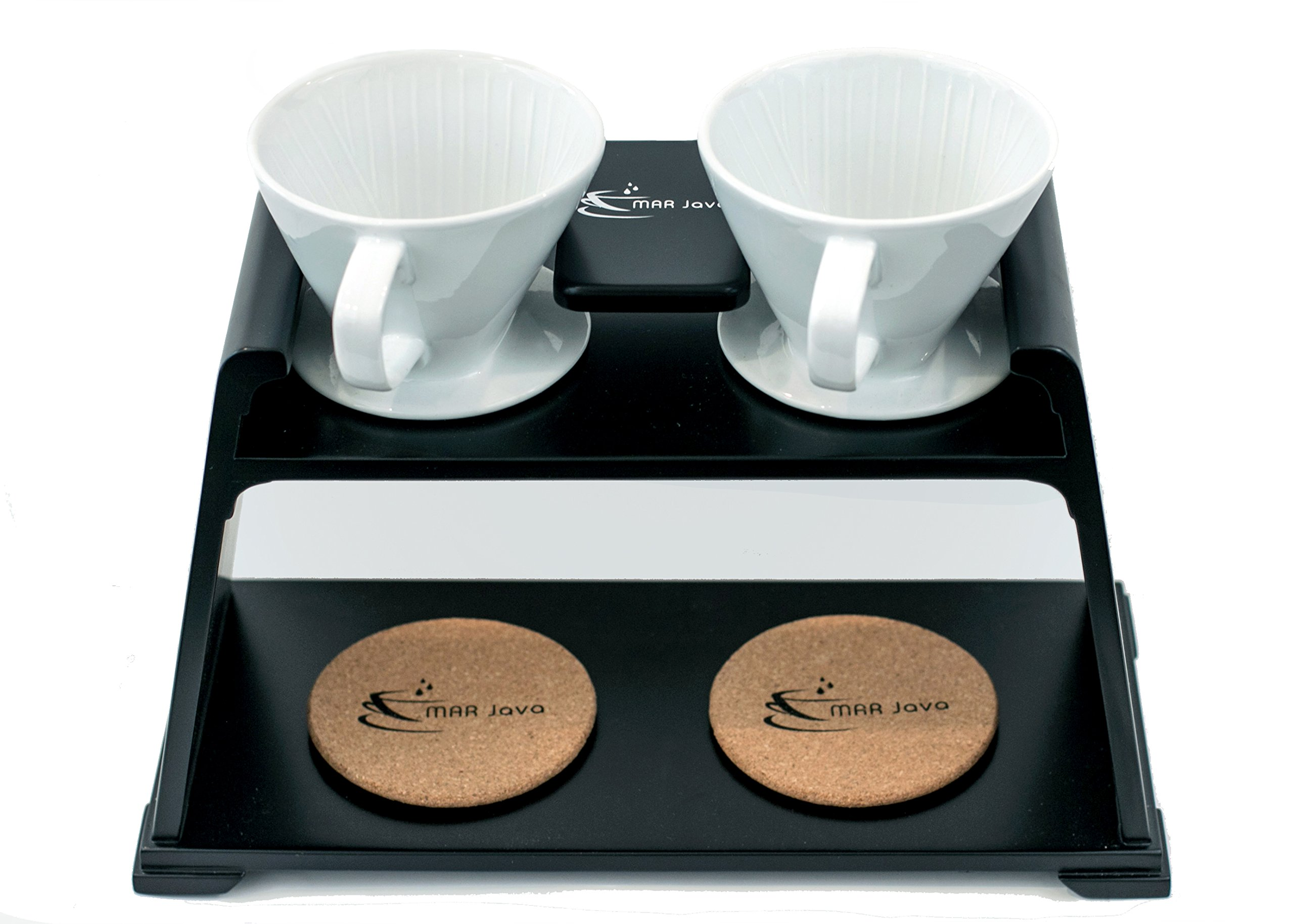 MAR Java Duo Pour Over Coffee Stand by MAR Java