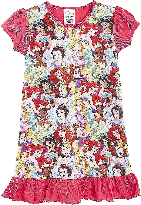 Disney Camisón para Chicas De Princesa Personajes De Televisión | con El Rey León, Aladdin, Cenicienta, Paw Patrol, Little Mermaid | Ropa De Dormir para Niños