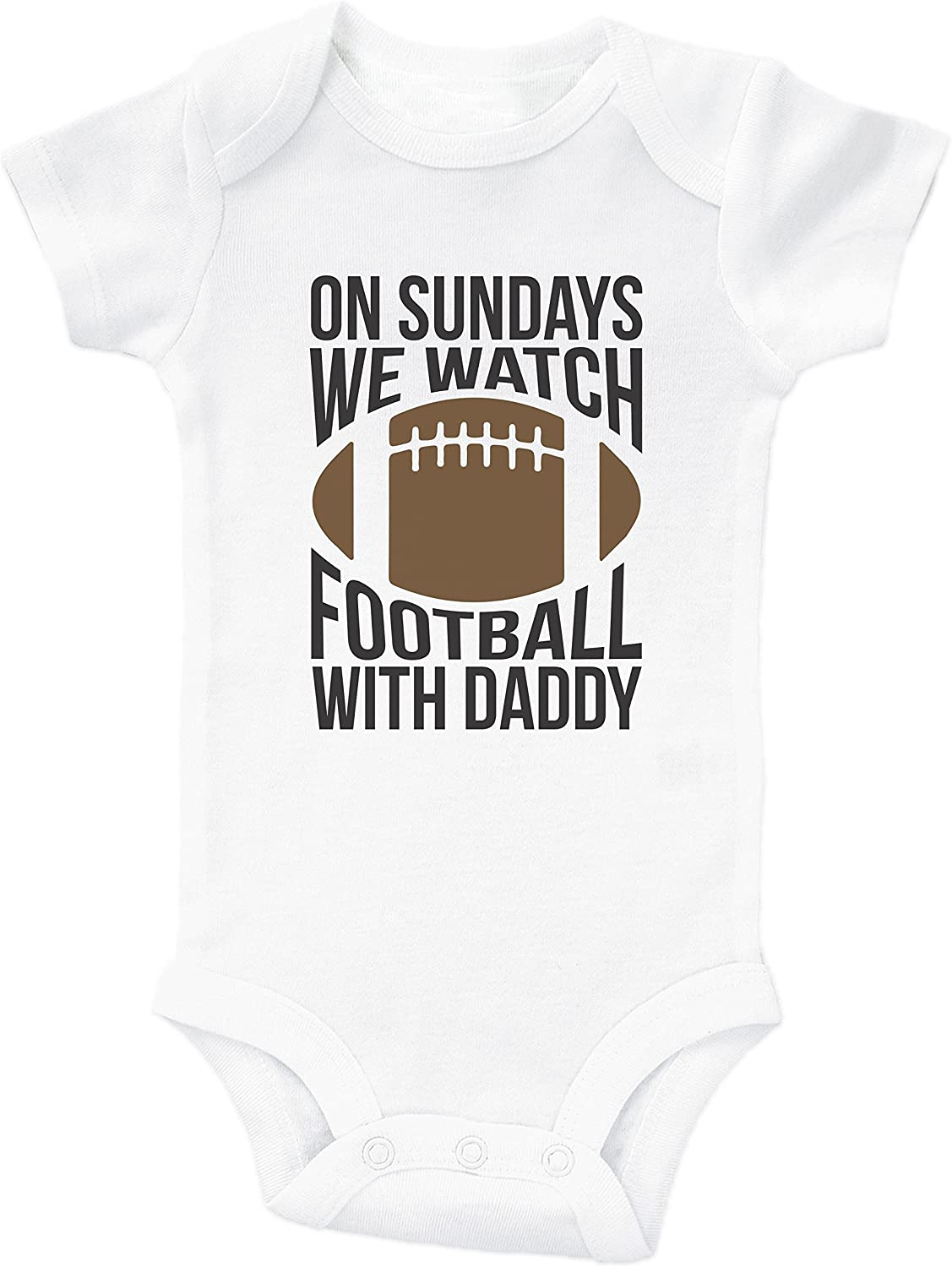 Dallas Cowboys Watching With Daddy Football Kids Toddler Long Sleeve T-Shirt