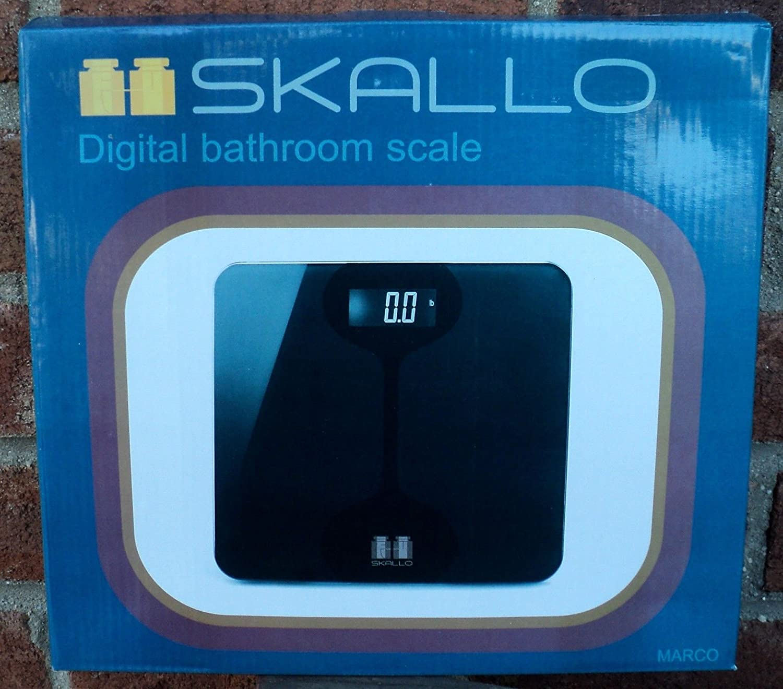 Amazon.com: Digital Glass STEP ON Fitness Bathroom Weight Body Scale ...