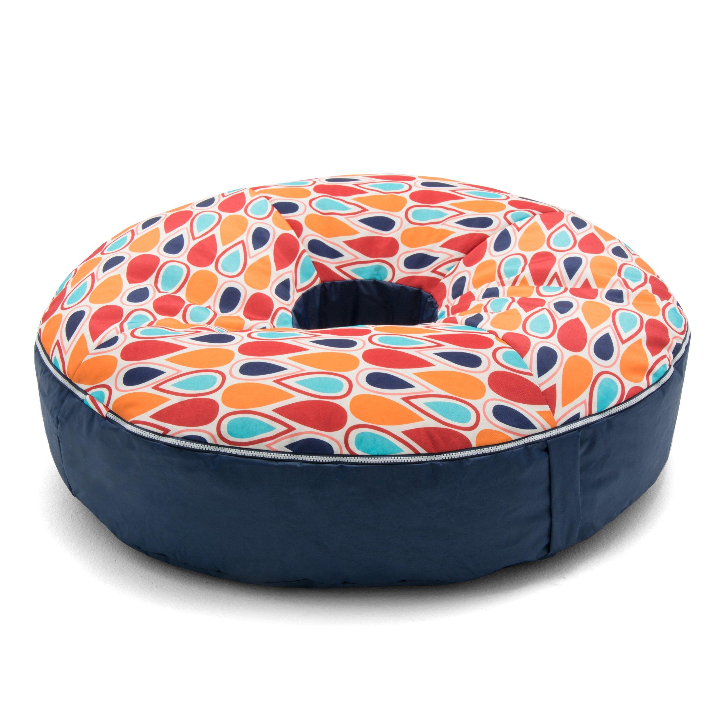 Big Joe Joenut Float Fiesta Geo Drop Bean Bag, Multicolor