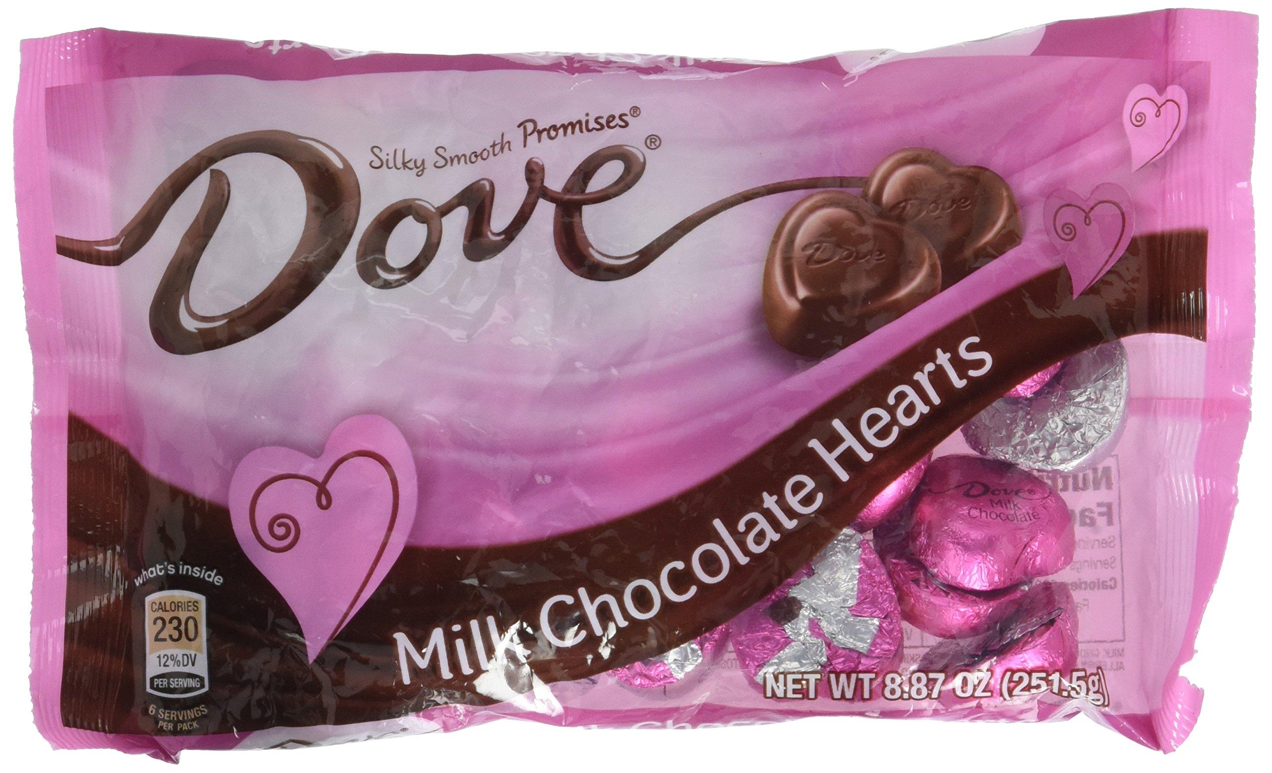 Amazoncom Dove Valentines Heart Promises Milk Chocolate 887