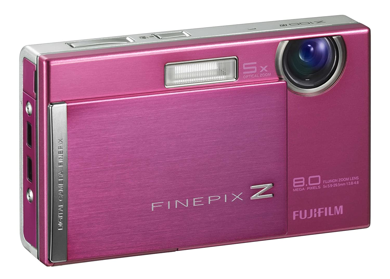 Amazon.com : Fujifilm Finepix Z100fd 8MP Digital Camera with 5x Optical  Image Stabilized Zoom (Pink) : Point And Shoot Digital Cameras : Camera &  Photo