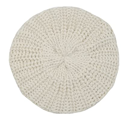 Girls Cream Lurex Beanie Beret Hat Age 5-12 GL070  Amazon.co.uk ... 32774b8ed711