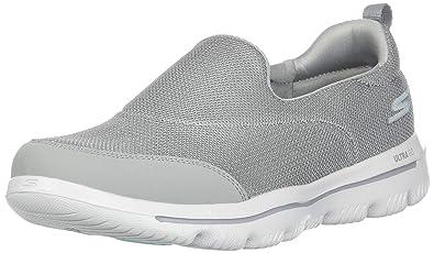 6ce56956e7e0 Skechers Women s GO Walk Evolution Ultra-Reach Sneaker Gray 5 ...