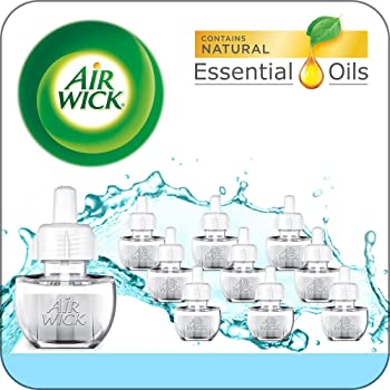 10-Pack Air Wick Plug In Scented Oil Refill