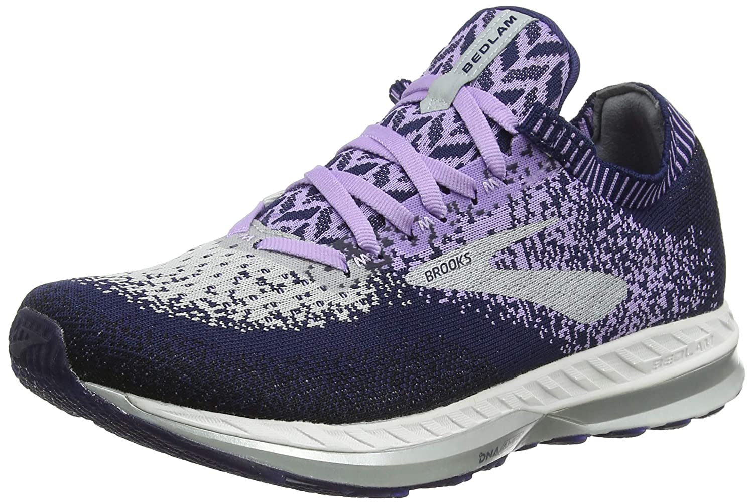 Brooks Bedlam, Zapatillas de Running por Mujer, (Purple/Navy/Grey 585), 43 EU: Amazon.es: Zapatos y complementos