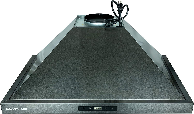 Appliances LeKITCHEN Range Hood 450 CFM European Style SmartHood ...