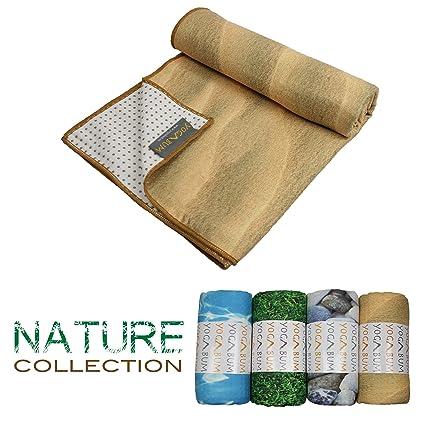 Yogabum Naturaleza Coleccion Antideslizante Yoga Mat Toallas