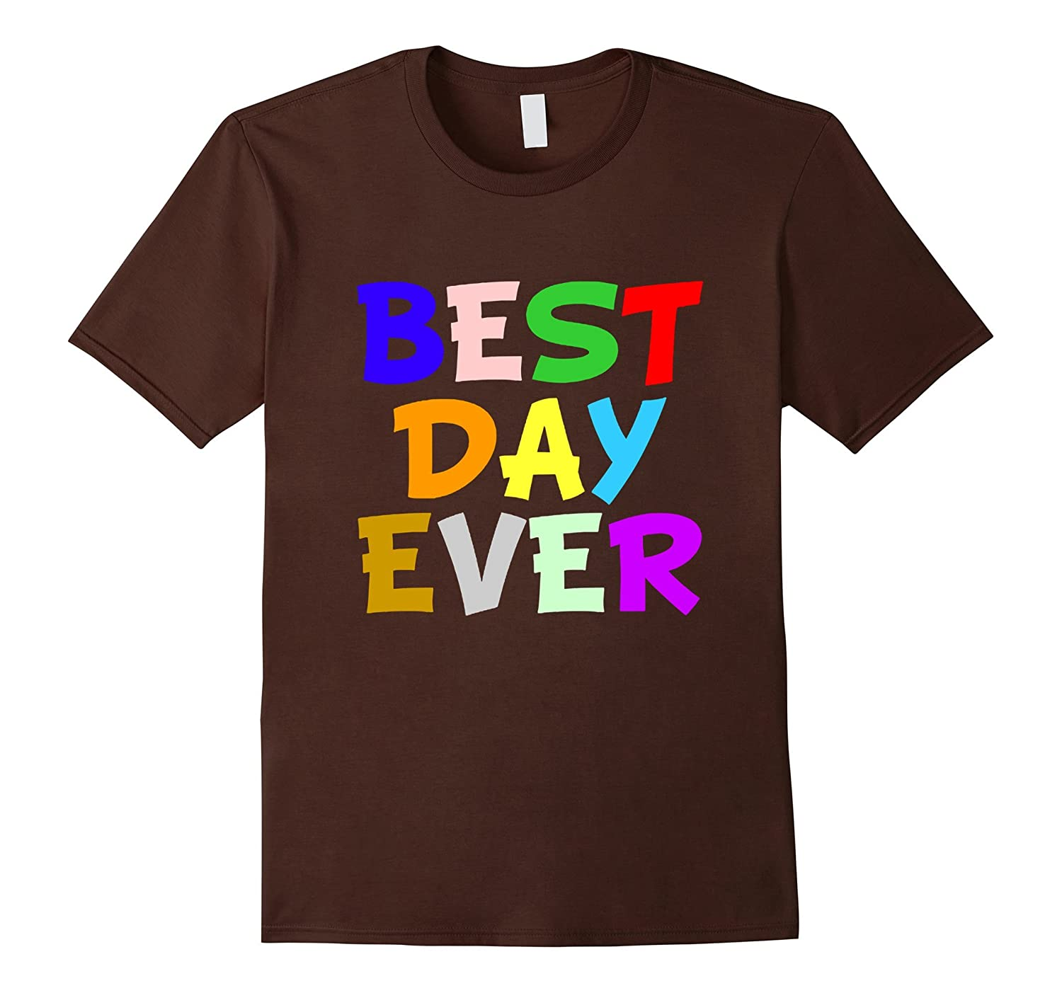 Womens mens summer t shirts tops best day ever party tee for Best t shirts for summer