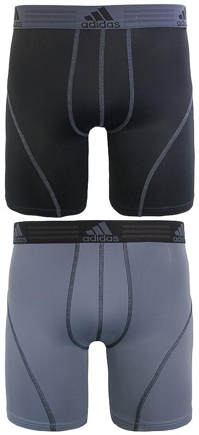 Ropa interior deportiva de Adidas; calzoncillo de rendimiento Climalite, 2 unidades, 22,