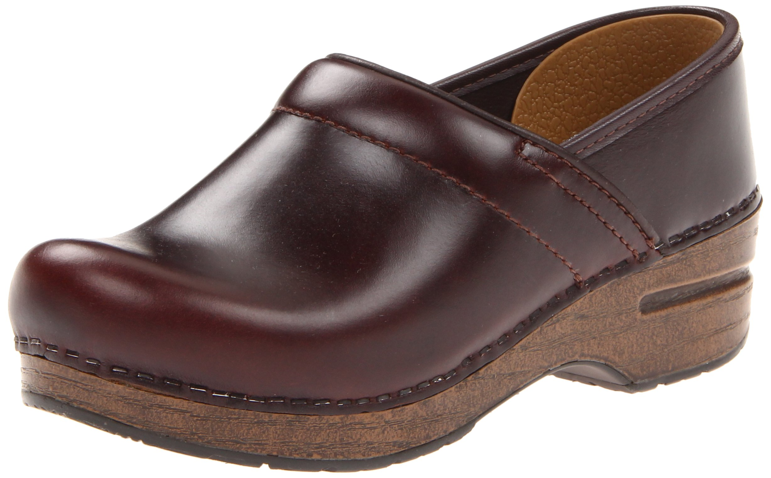 Dansko Unisex Professional Espresso Oiled Full Grain Clog/Mule 42 (US Men's 8.5-9, US Women's 11.5-12) Regular