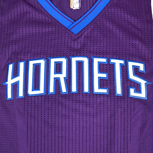 20b1c15ea99e Amazon.com   Charlotte Hornets NBA Adidas Purple NBA Authentic On-Court  Team Issued Pro Cut Jersey Jersey For Men   Sports   Outdoors