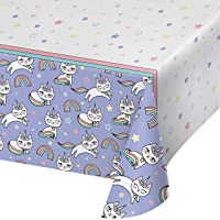 Caticorn Paper Tablecloth, 3 ct