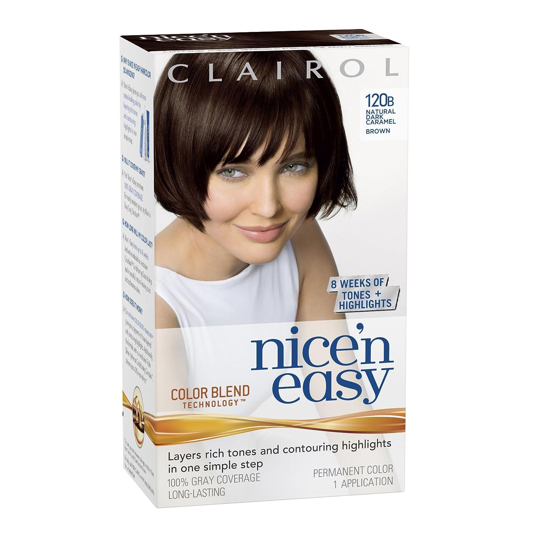 Amazon Clairol Nice N Easy Hair Color 120b Natural Dark
