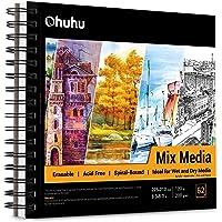 Ohuhu Wielofunkcyjny notebook 225 × 210 mm (8,9 × 8,3 cala) typ cewki